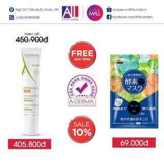 Kem giúp tái tạo, giảm thâm A-Derma Epitheliale AH Duo Ultra-Repairing Cream TẶNG mặt nạ Sexylook (Nhập khẩu)