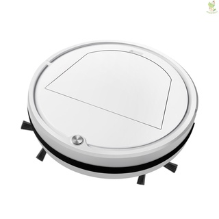 Smart Sweeper Vacuum Cleaner Machine Sweeping Mopping Robot with Mop Cloth Cleaning Appliances Home Dust Collector Touch Button Built-in Battery USB Charging