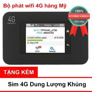 [Mã ELCLDEC giảm 7% đơn 500K] (Rẻ Vô Địch) Bộ Phát Wifi 4G Netgear 4G 782S, 762S Hàng Mỹ thumbnail