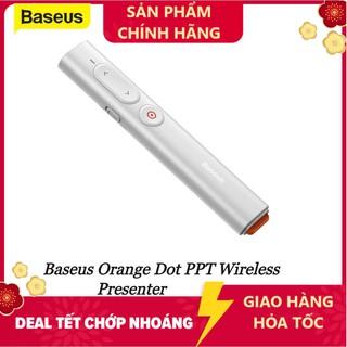 Bút Laser trình chiếu Baseus Orange Dot PPT Wireless Presenter Youth cho Laptop Macbook - Hàng chính hãng thumbnail