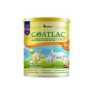 Sữa dê Goatlac gold BA cho trẻ biếng chậm tăng cân 800gam (mẫu mới) thumbnail