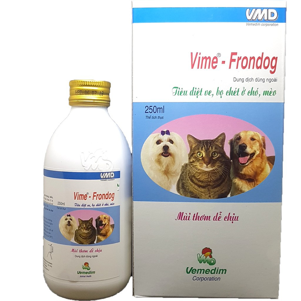 Một chai thuốc Frondog