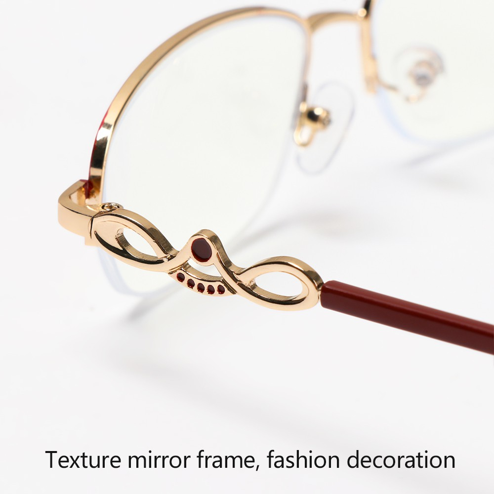 Mắt kính đọc sách gọng kim loại chống ánh sáng xanh hiệu quả