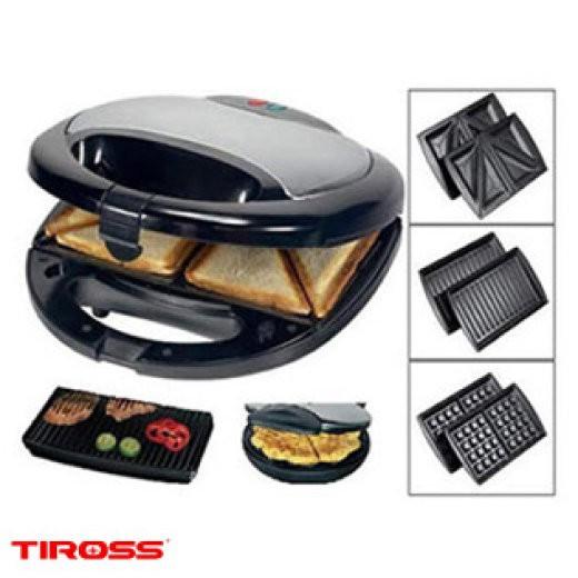 Máy làm bánh hotdog 3 in 1 Tiross TS513