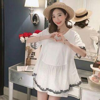Bộ bầu kết hợp cho con ti cotton phong cách trẻ trung hàng Quảng Châu cao cấp