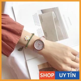 [Hàng Cao Cấp] Đồng hồ nữ Doukou dây da cao cấp mặt số thời trang lịch lãm thumbnail