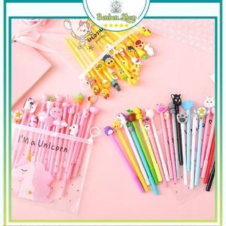 Combo 20 Bút Viết Nhiều Màu ( Tặng Túi Zip + Mực Đen ) - Có Bán Ống Mực Thay Thế thumbnail