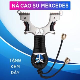 Ná Cao Su Siêu Cấp One Hit Inox 304 Mercedes, DÂY 2 LỚP 1MM thumbnail