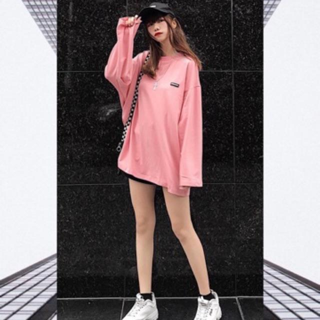 Basic Long Sleeve - Pink