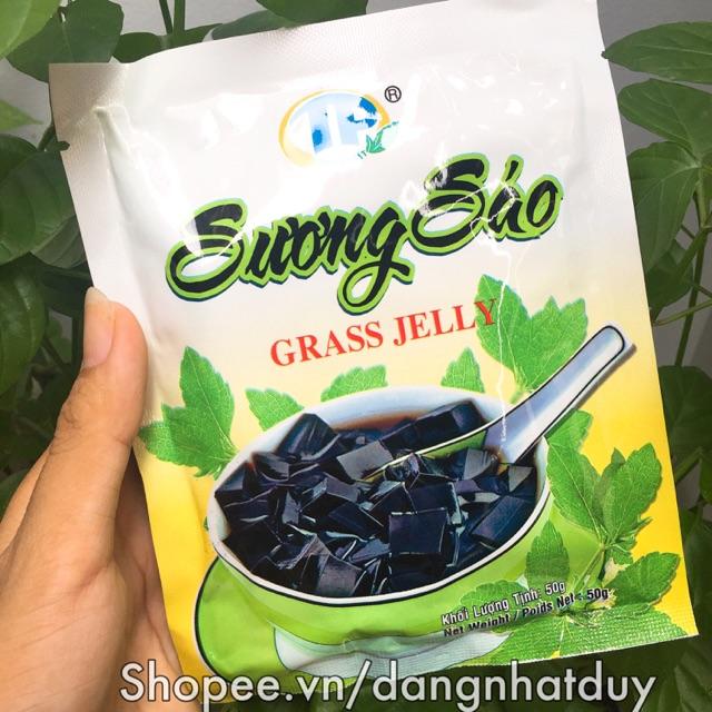 Bột sương sáo Thuận Phát 50gram (kèm dầu chuối)