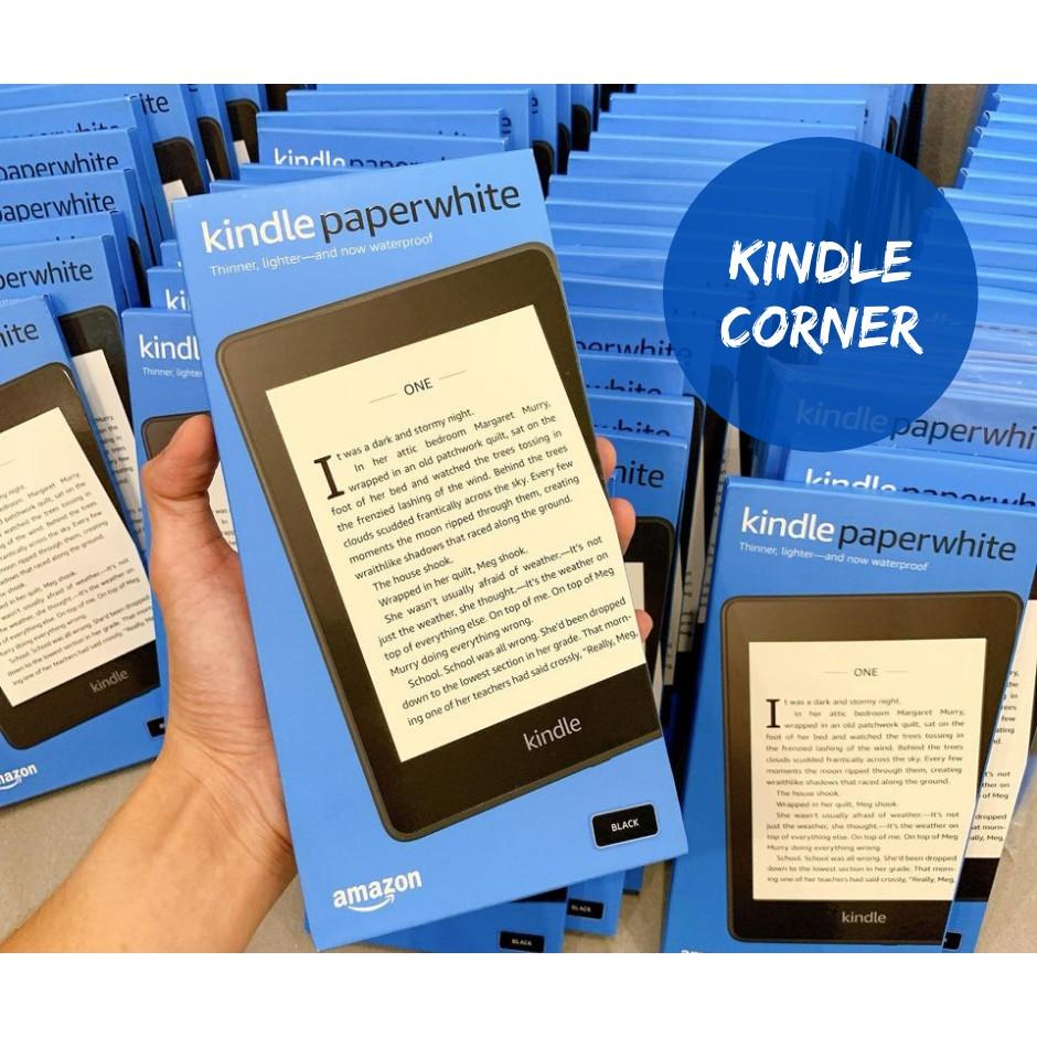 Máy đọc sách Kindle PaperWhite gen 4 (10th) chính hãng - Nguyên seal mới 100%