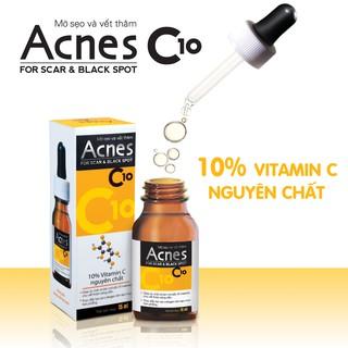 (DATE XA) Acnes C10 - dung dịch làm mờ sẹo và vết thâm