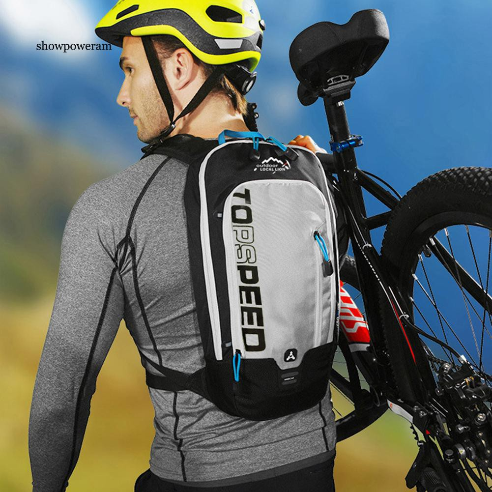 SPA_8L Nylon Outdoor Waterproof Bicycle Hydration Backpack Bike Cycling Water Bag