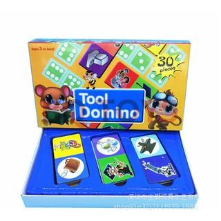 Đồ chơi giáo dục cho trẻ em Tool Domino