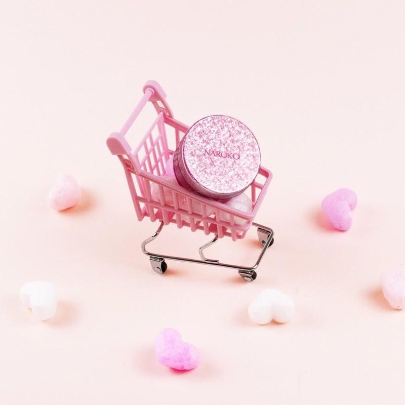 (CHÍNH HÃNG) NARUKO PHẤN CẤP ẨM MÁT LẠNH HOA HỒNG NHUNG RỪNG ROSE MAGIC COOLING AQUA POWDER 8g
