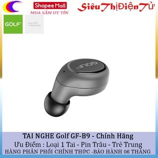 [Mã ELFLASH5 giảm 20K đơn 50K] Tai nghe Golf GF B9 với Bluetooth 4.1 không dây