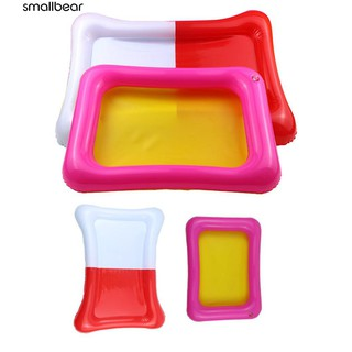 💮🐬Kids Indoor PVC Inflatable Castle Sand Box Sandbox Tray Table Play Toys
