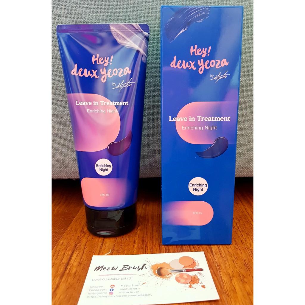 Deux Yeoza // Kem dưỡng tóc Rapunzel Hair Day& Night