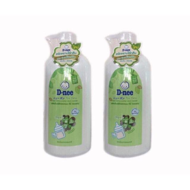 Combo 2 chai rửa bình sữa Dnee Organic 620ml