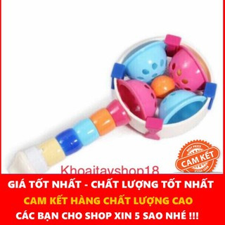 {Có Quà} Đồ chơi xúc xắc cầm tay Papa ( Thái Lan )