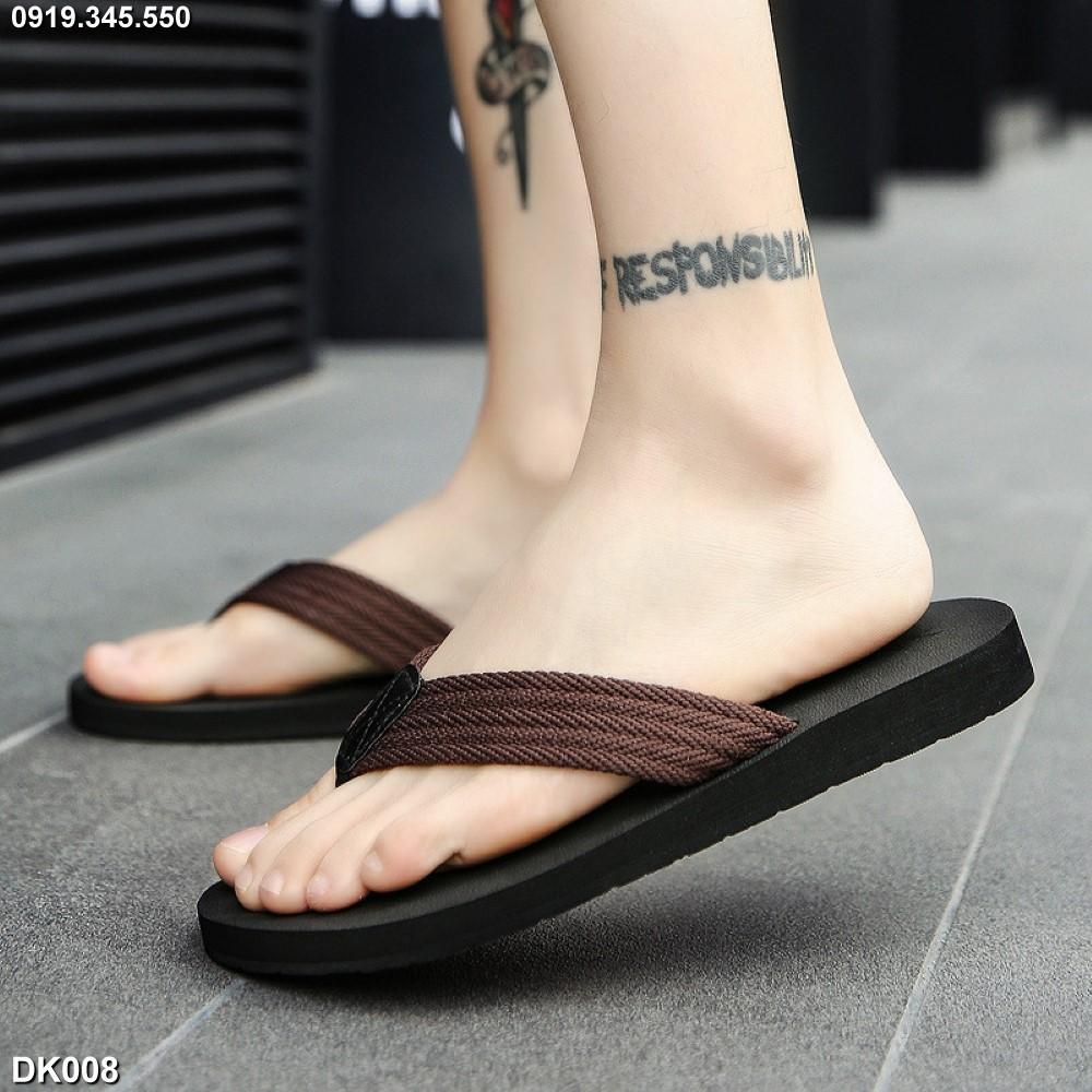 Dép tông-kẹp-xỏ ngón (flip-flops) nam big size cỡ lớn 44 45 46 47 48 cho chân to