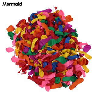 Mermaid 500Pcs Water Bombs Balloons Garden Summer Beach DIY Fun Funny