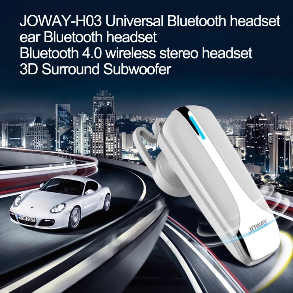 Tai nghe Bluetooth Cao Cấp JOWAY H03 (Màu Trắng)