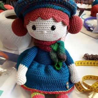 Búp bê bằng len Aria – Búp bê bằng len Aria -Búp bê bằng len Aria -Búp bê bằng len Aria -Búp bê handmade – Búp bê ..