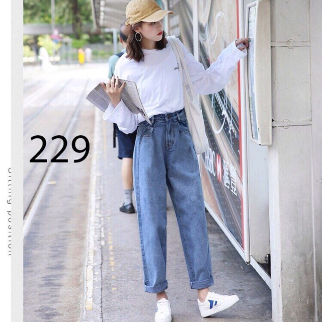 Baggy jean ống rộng - 2752940 , 897721352 , 322_897721352 , 125000 , Baggy-jean-ong-rong-322_897721352 , shopee.vn , Baggy jean ống rộng