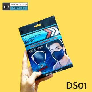 KHẨU TRANG DUSTSTOP -DS01 - LỚP N95 LỌC SIÊU BỤI PM2.5 MÃ DS01 thumbnail