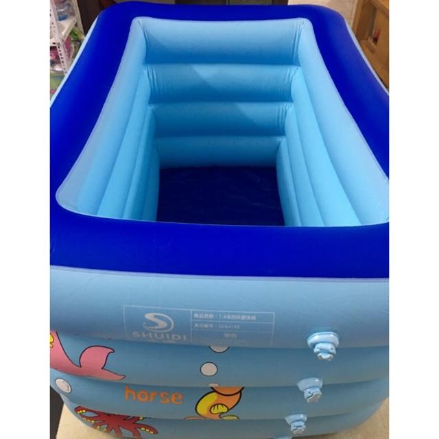 Bể bơi cao 4 tầng Kt 1m40 cho bé yêu