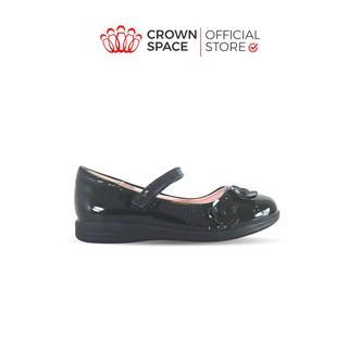 Giày Búp Bê Đen Đi Học Bé Gái Crown Space UK School Shoes CB3023 Cao Cấp Nhẹ Êm Thoáng Mát Size 28-36 4-14 Tuổi thumbnail
