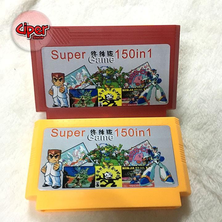 Băng 150 game máy chơi điện tử 4 nút - Supper game 150in - 2984863 , 400564768 , 322_400564768 , 219000 , Bang-150-game-may-choi-dien-tu-4-nut-Supper-game-150in-322_400564768 , shopee.vn , Băng 150 game máy chơi điện tử 4 nút - Supper game 150in