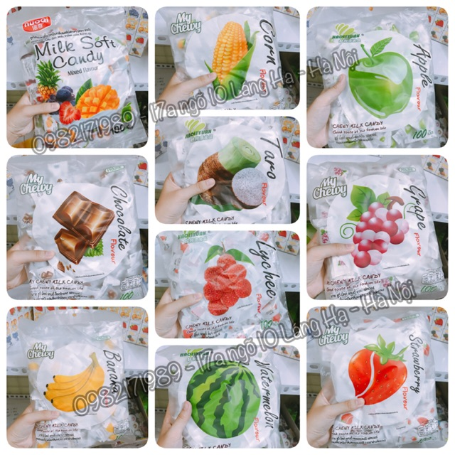 Kẹo dẻo sữa 100 viên Thái Lan - 2778978 , 472678684 , 322_472678684 , 60000 , Keo-deo-sua-100-vien-Thai-Lan-322_472678684 , shopee.vn , Kẹo dẻo sữa 100 viên Thái Lan