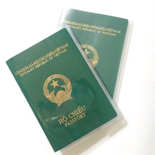Vỏ Bọc Hộ Chiếu Passport - Bao Đựng Hộ Chiếu Có Ngăn Nhỏ Nhét Thẻ ATM, Card