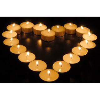 KHO SỈ- NẾN TEALIGHT 100 VIÊN KHÔNG KHÓI-KHÔNG MÙI- AN TOÀN MÔI TRƯỜNG