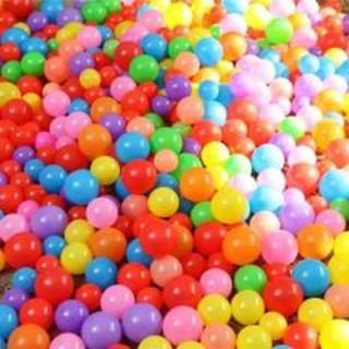 Bộ 200 bóng nhựa nhiều màu sắc