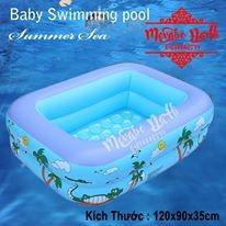 Bể bơi 2 tầng SWIMMING POOL 1.2m x 90 x 35 cm