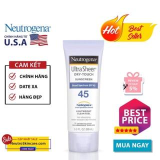 [FREESHIP TỪ 50K -Auth]Kem chống nắng Neutrogena Ultra Sheer SPF 45