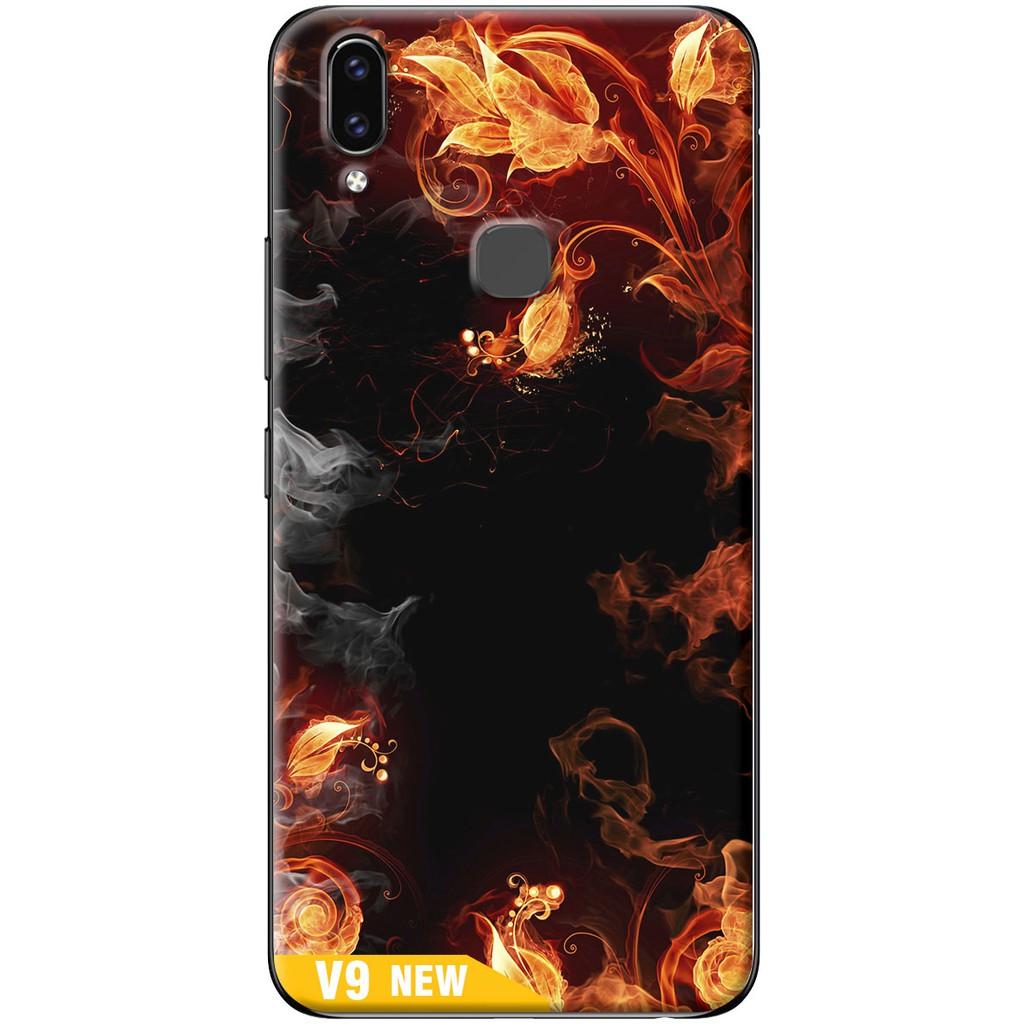 Ốp lưng nhựa dẻo Vivo V9 Khói lửa