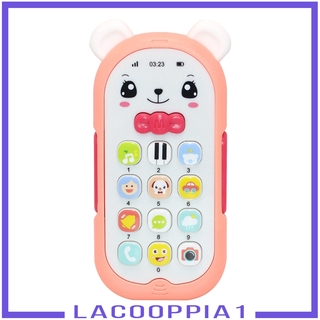 [LACOOPPIA1] Baby Phone Toy Mobile Telephone Early Educational Learning Machine Kids Gifts