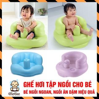 Ghế hơi tập ngồi cho bé giúp nâng đỡ cột sống trẻ