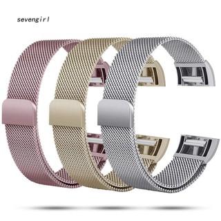 Dây kim loại thay thế cho đồng hồ Fitbit Charge 2