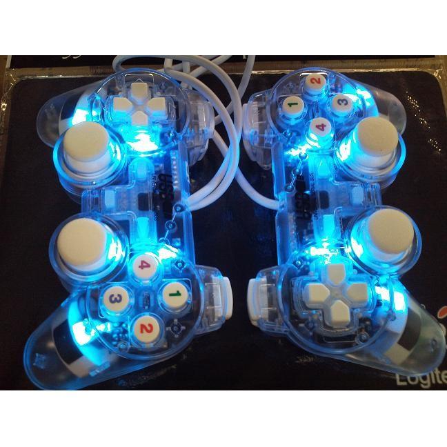 Tay cầm game đơn rung trong suốt có đèn led - 3513823 , 958269334 , 322_958269334 , 110000 , Tay-cam-game-don-rung-trong-suot-co-den-led-322_958269334 , shopee.vn , Tay cầm game đơn rung trong suốt có đèn led