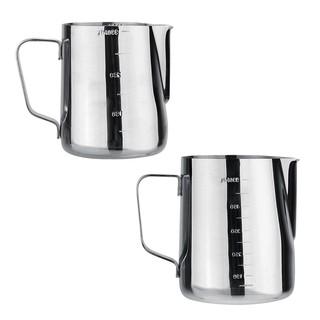 Cốc đánh sữa cà phê Espresso 1000ml chất liệu thép không gỉ - hình 1