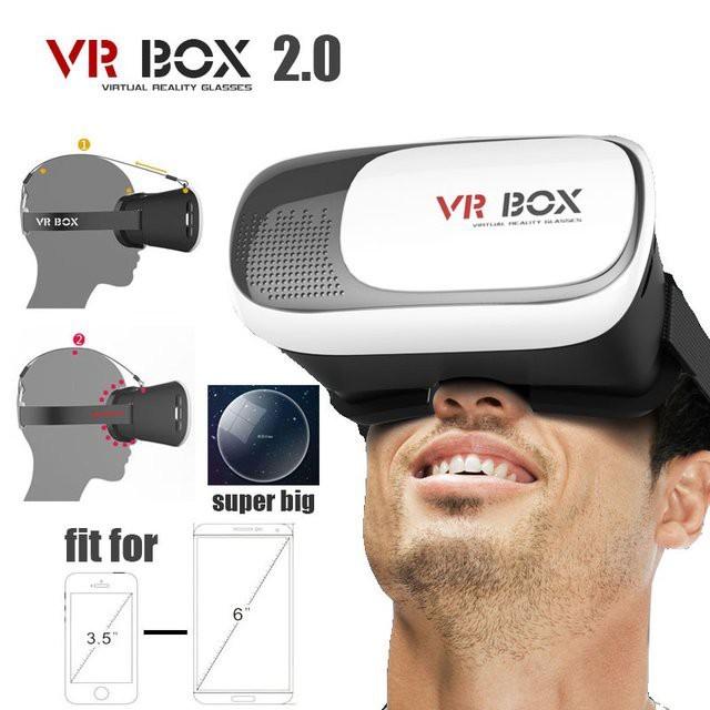 Kính thực tế ảo 3D VR Box thế hệ 2