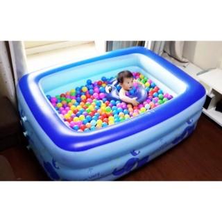 Bể bơi 3 tầng cao cấp 160cmx125cmx55cm