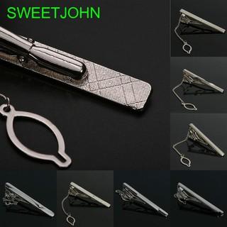 Kẹp cà vạt kim loại nhiều kiểu dáng đơn giản