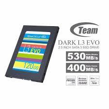 SSD TEAMGROUP 120GB L3 EVO -Chính Hãng Phân Phối - Tặng khẩu trang