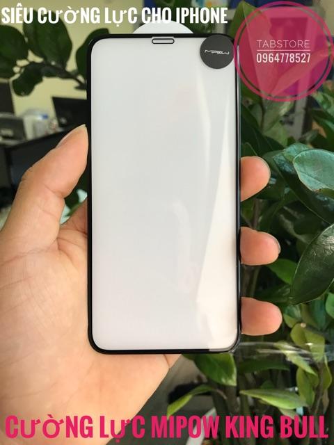 Cường Lực MiPow Kingbull 3D Glass Screen Protector cho iPhone